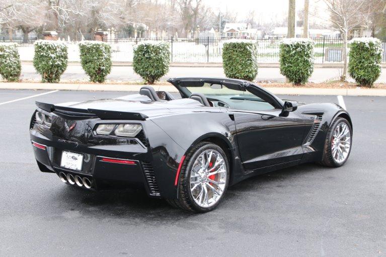 Used 2016 Chevrolet Corvette 3LZ Z06 Convertible W/NAV Z06 for sale Sold at Auto Collection in Murfreesboro TN 37130 3
