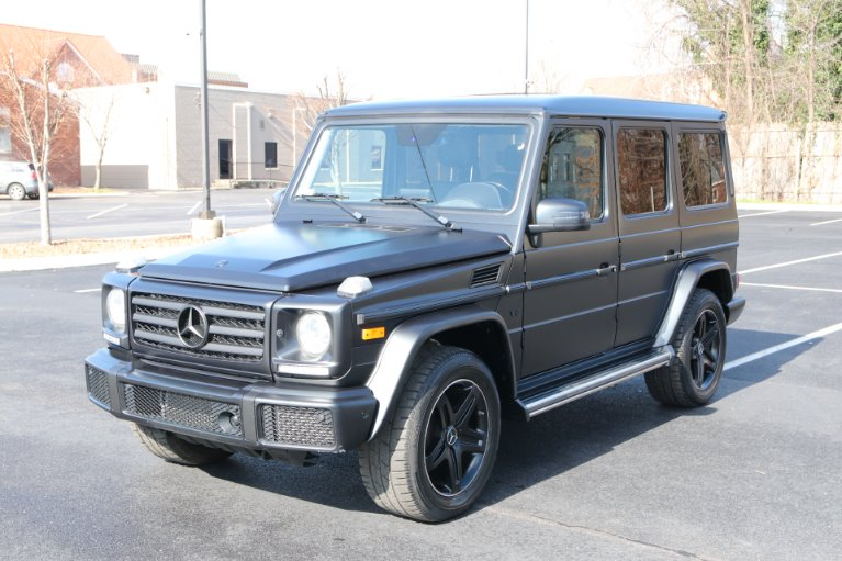 Used 2017 Mercedes-Benz G550 4MATIC  AWD W/NAV G 550 for sale Sold at Auto Collection in Murfreesboro TN 37130 2