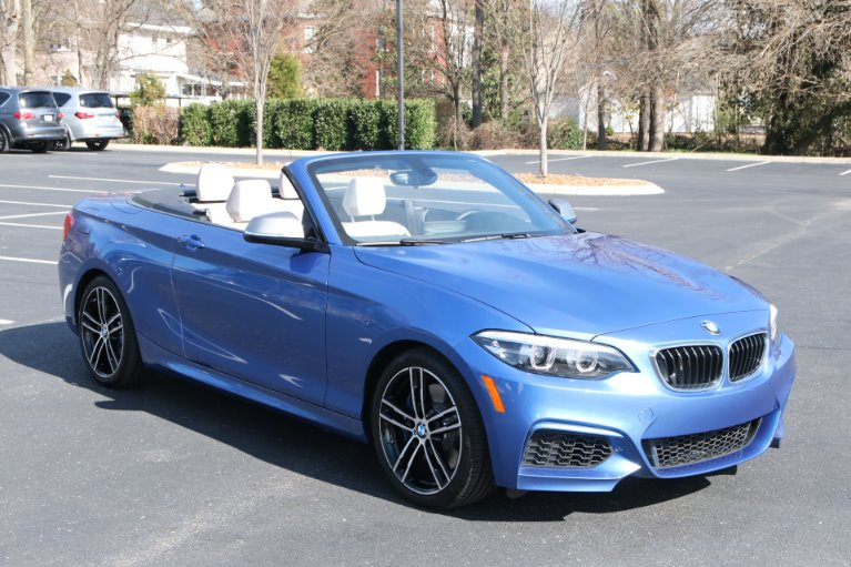 Used 2018 BMW M240I CONVERTIBLE W/NAV M240i for sale Sold at Auto Collection in Murfreesboro TN 37130 1