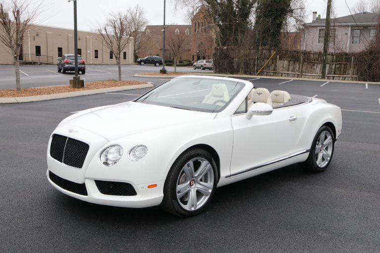 Used 2014 Bentley Continental GTC V8 W/NAV GT V8 for sale Sold at Auto Collection in Murfreesboro TN 37130 2