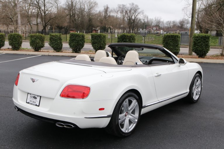 Used 2014 Bentley Continental GTC V8 W/NAV GT V8 for sale Sold at Auto Collection in Murfreesboro TN 37130 3