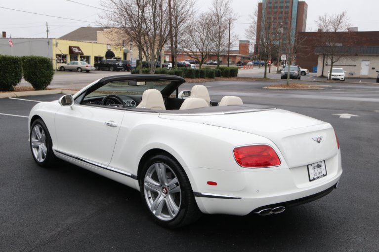 Used 2014 Bentley Continental GTC V8 W/NAV GT V8 for sale Sold at Auto Collection in Murfreesboro TN 37130 4
