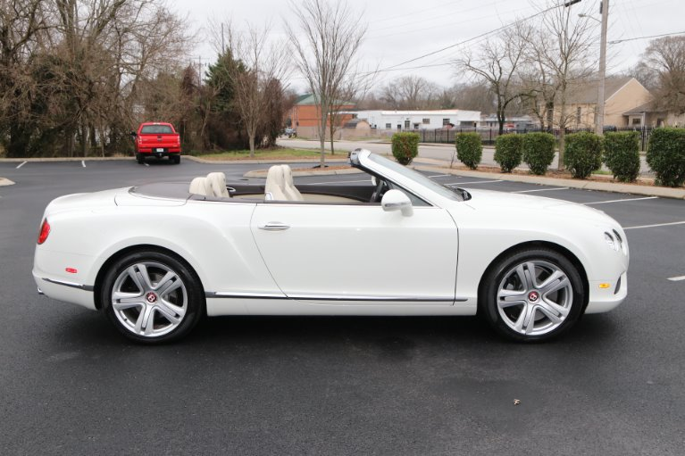 Used 2014 Bentley Continental GTC V8 W/NAV GT V8 for sale Sold at Auto Collection in Murfreesboro TN 37130 8