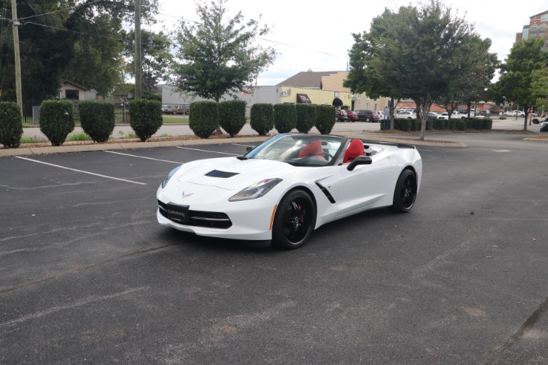 Used 2014 Chevrolet Corvette STINGRAY Z51 3LT CONVERTIBLE PERFORMANCE EXHAUST W/NAV for sale Sold at Auto Collection in Murfreesboro TN 37130 2