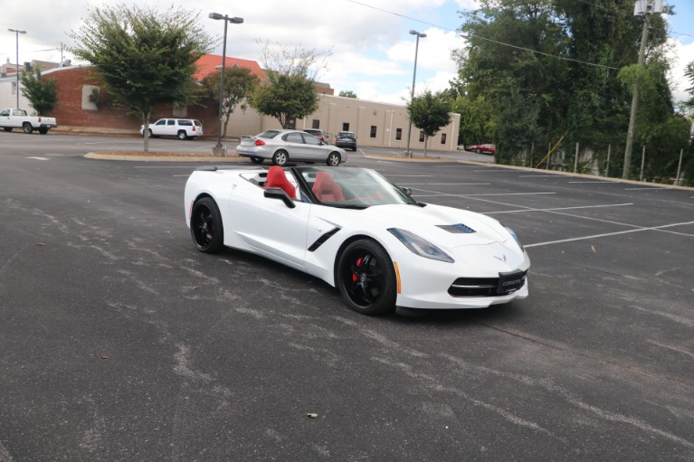 Used 2014 Chevrolet Corvette STINGRAY Z51 3LT CONVERTIBLE PERFORMANCE EXHAUST W/NAV for sale Sold at Auto Collection in Murfreesboro TN 37130 1