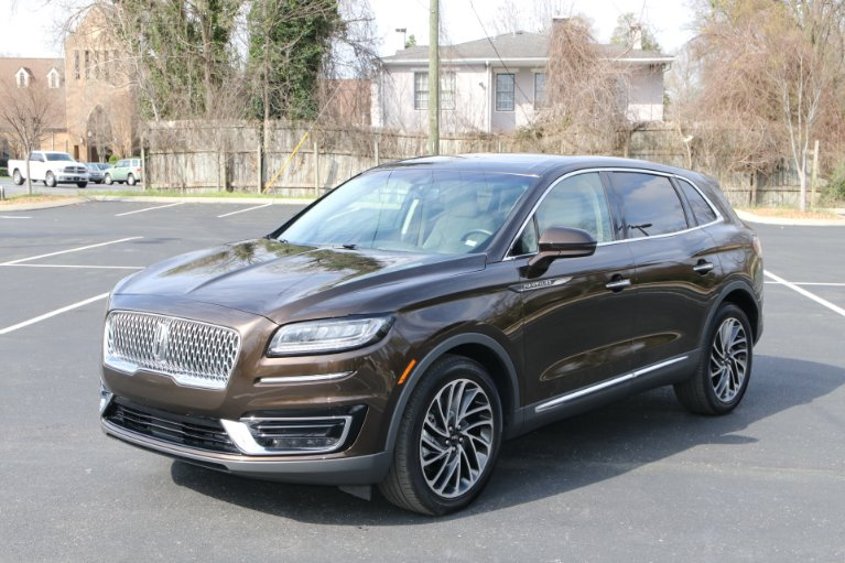 Used 2019 Lincoln Nautilus Reserve AWD W/NAV for sale Sold at Auto Collection in Murfreesboro TN 37130 2