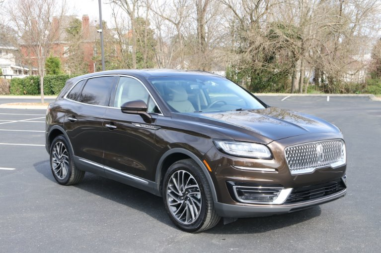 Used 2019 Lincoln Nautilus Reserve AWD W/NAV for sale Sold at Auto Collection in Murfreesboro TN 37130 1