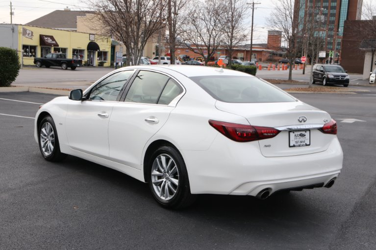 Used 2019 INFINITI Q50 2.0t Pure AWD 2.0T Pure for sale Sold at Auto Collection in Murfreesboro TN 37130 4