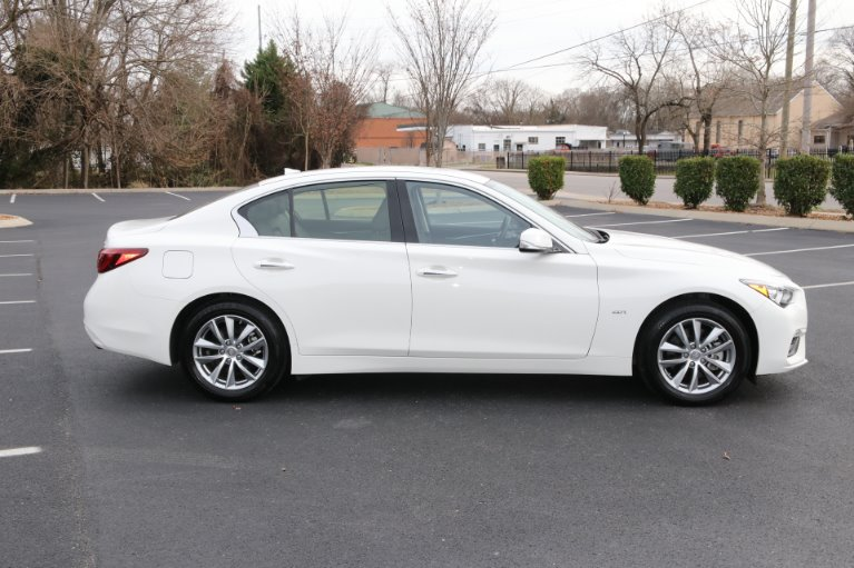 Used 2019 INFINITI Q50 2.0t Pure AWD 2.0T Pure for sale Sold at Auto Collection in Murfreesboro TN 37130 8