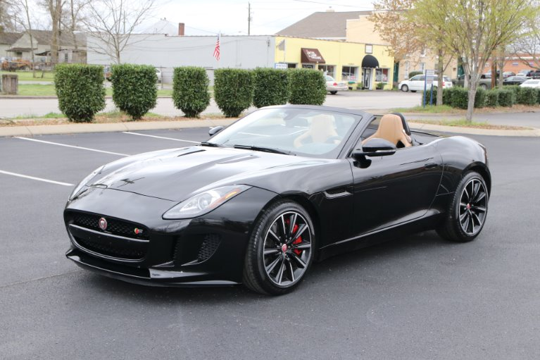 Used 2015 Jaguar F-TYPE S RWD CONVERTIBLE W/NAV S for sale Sold at Auto Collection in Murfreesboro TN 37130 2