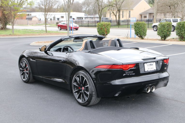 Used 2015 Jaguar F-TYPE S RWD CONVERTIBLE W/NAV S for sale Sold at Auto Collection in Murfreesboro TN 37130 4