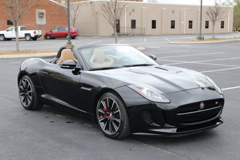 Used 2015 Jaguar F-TYPE S RWD CONVERTIBLE W/NAV S for sale Sold at Auto Collection in Murfreesboro TN 37130 1