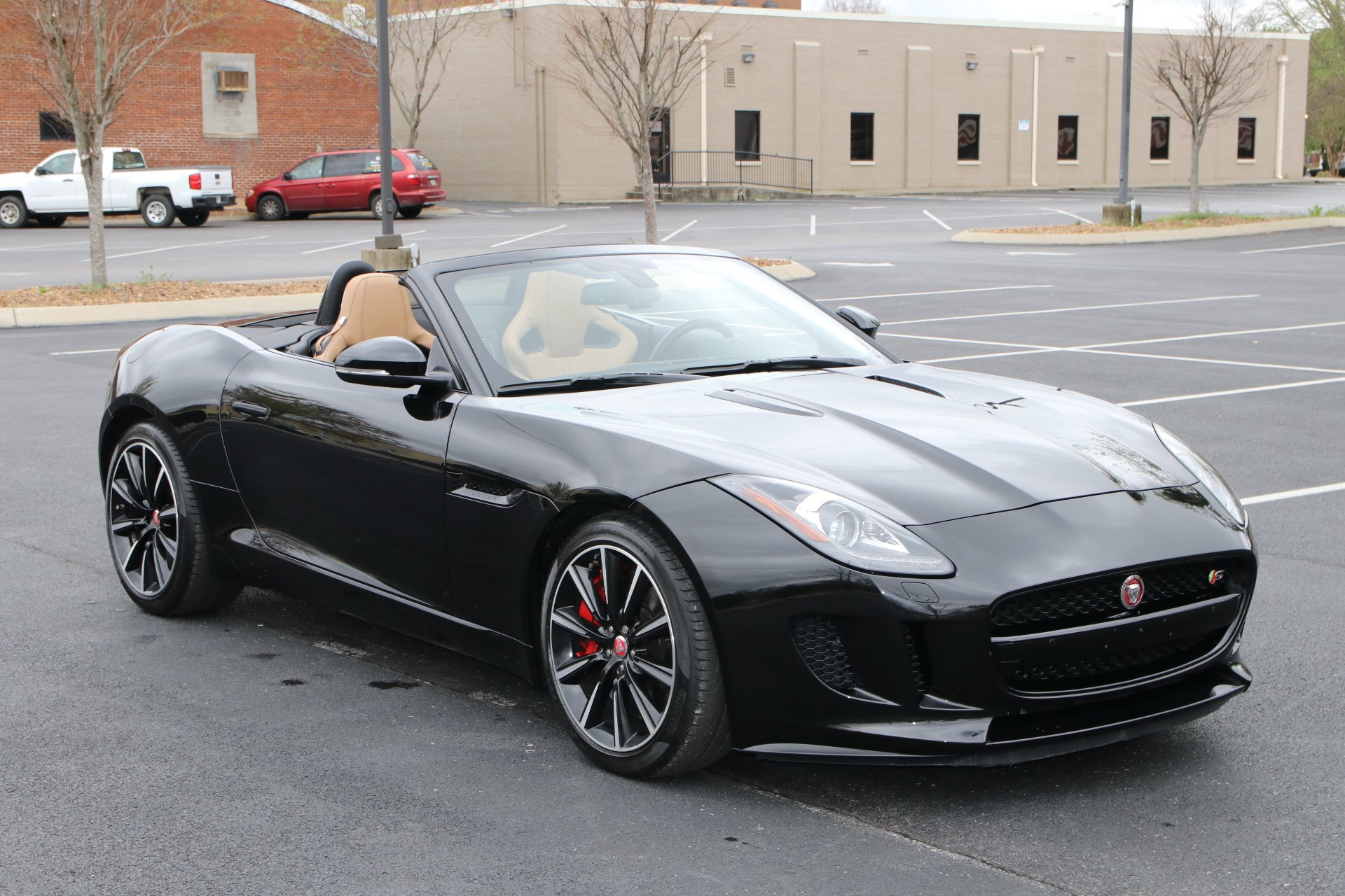 Used 2015 Jaguar F-TYPE S RWD CONVERTIBLE W/NAV S for sale $45,100 at Auto Collection in Murfreesboro TN 37129 1