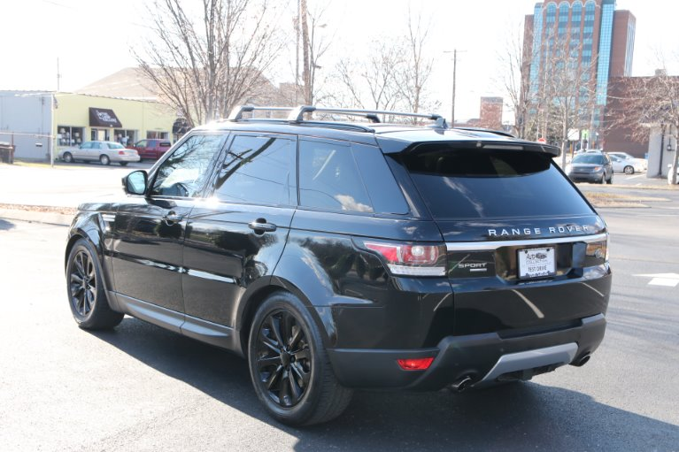 Used 2016 Land Rover Range Rover Sport V6 SUPERCHARGED HSE AWD HSE for sale Sold at Auto Collection in Murfreesboro TN 37129 4