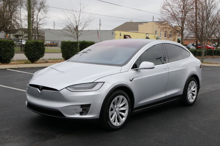 Used 2017 Tesla Model X 100D AWD W/NAV 100D for sale Sold at Auto Collection in Murfreesboro TN 37129 2