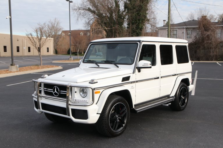 Used 2018 Mercedes-Benz G63 AMG DESIGNO PKG 4MATIC AWD W/NAV AMG G 63 for sale Sold at Auto Collection in Murfreesboro TN 37130 2