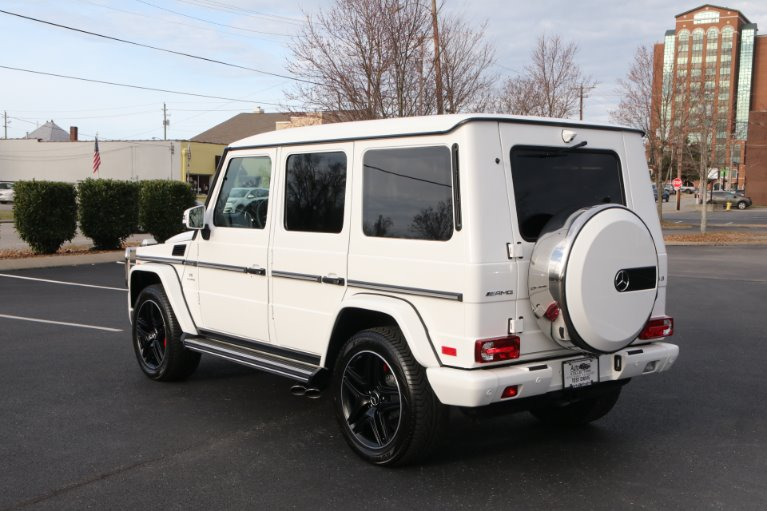 Used 2018 Mercedes-Benz G63 AMG DESIGNO PKG 4MATIC AWD W/NAV AMG G 63 for sale Sold at Auto Collection in Murfreesboro TN 37130 4