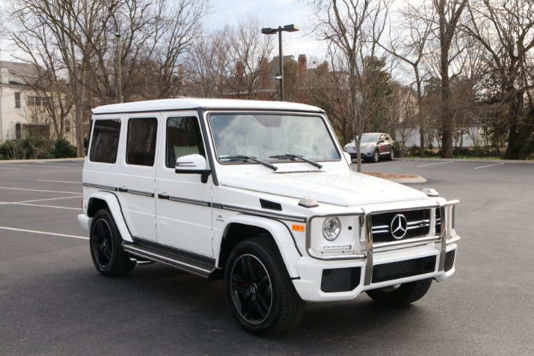 Used 2018 Mercedes-Benz G63 AMG DESIGNO PKG 4MATIC AWD W/NAV AMG G 63 for sale Sold at Auto Collection in Murfreesboro TN 37130 1