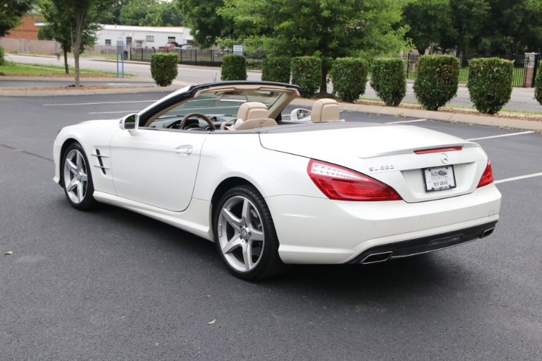 Used 2016 Mercedes-Benz SL550 SL 550 for sale Sold at Auto Collection in Murfreesboro TN 37130 4