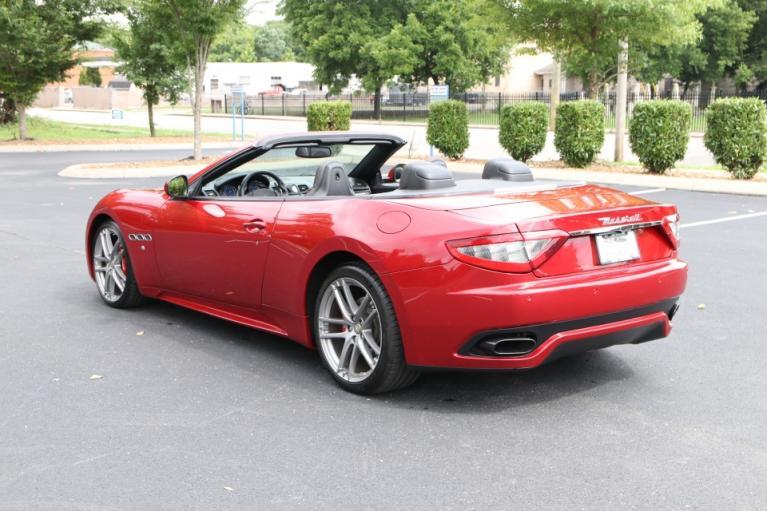 Used 2016 Maserati GRANTURISMO SPORT CONVERTIBLE W/NAV SPORT CONVERTIBLE for sale Sold at Auto Collection in Murfreesboro TN 37130 4