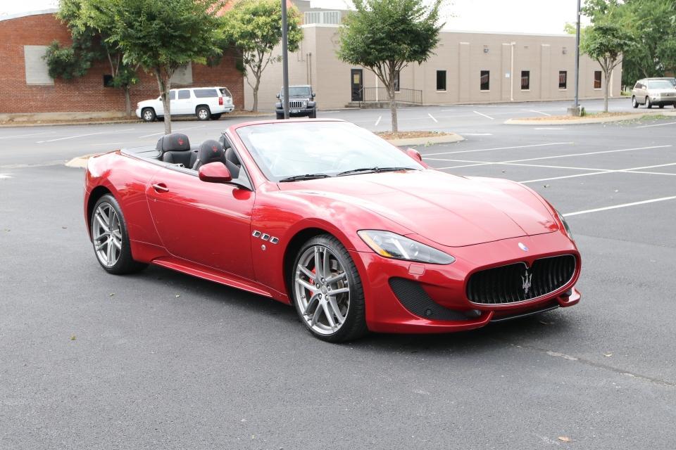 Used 2016 Maserati GRANTURISMO SPORT CONVERTIBLE W/NAV SPORT CONVERTIBLE for sale Sold at Auto Collection in Murfreesboro TN 37130 1