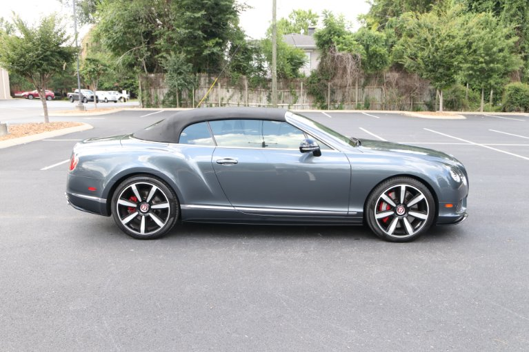 Used 2014 Bentley Continental GTC S V8 Convertible W/NAV GT V8 S for sale Sold at Auto Collection in Murfreesboro TN 37130 8