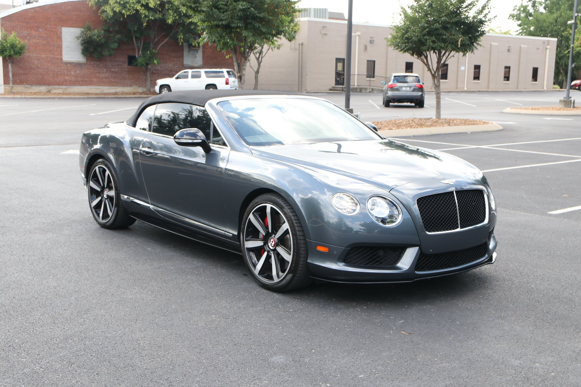 Used 2014 Bentley Continental GTC S V8 Convertible W/NAV GT V8 S for sale Sold at Auto Collection in Murfreesboro TN 37130 1