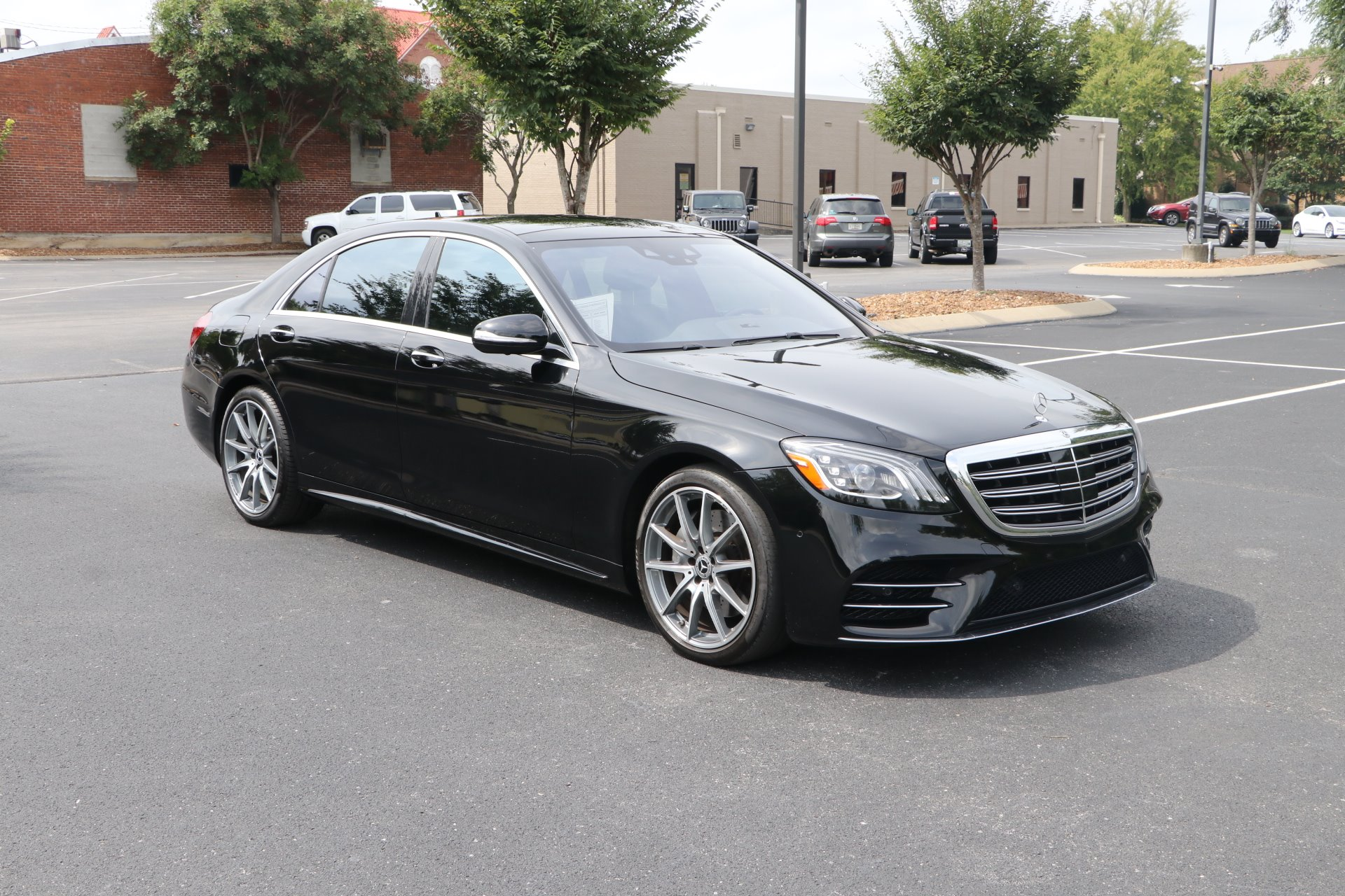 Used 2018 Mercedes-Benz S450 AMG LINE RWD W/NAV S 450 for sale Sold at Auto Collection in Murfreesboro TN 37130 1