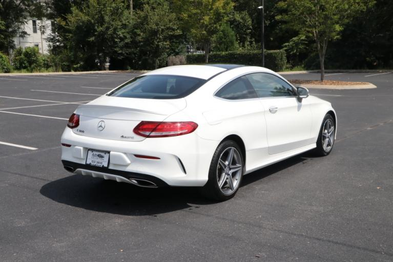 Used 2017 Mercedes-Benz C300 sport 4Matic coupe w/NAV for sale $29,250 at Auto Collection in Murfreesboro TN 37130 3