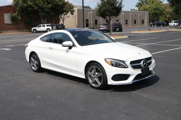 Used Used 2017 Mercedes-Benz C300 sport 4Matic coupe w/NAV C300 4MATIC COUPE for sale $29,250 at Auto Collection in Murfreesboro TN