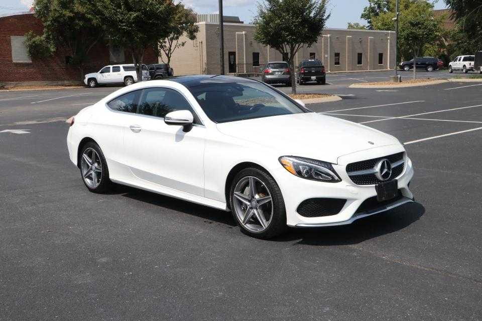Used 2017 Mercedes-Benz C300 sport 4Matic coupe w/NAV C300 4MATIC COUPE for sale $29,250 at Auto Collection in Murfreesboro TN 37130 1