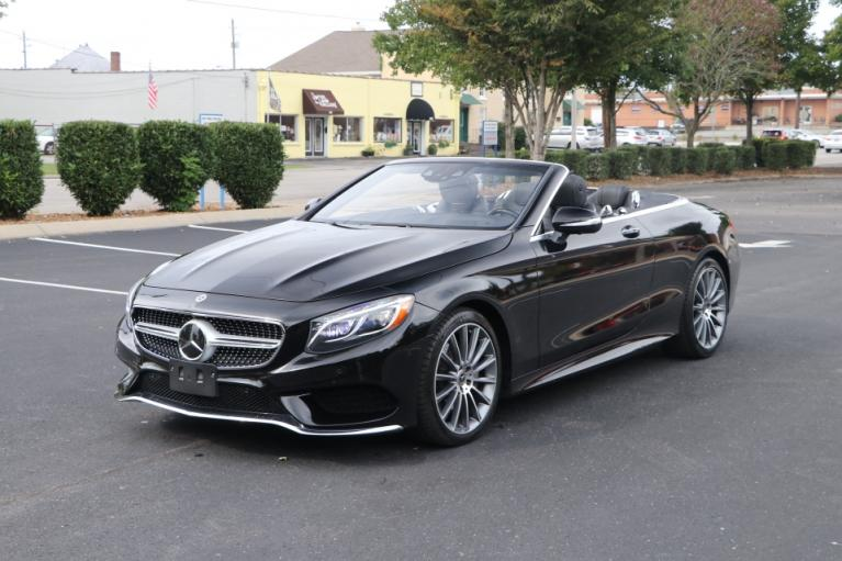 Used 2017 Mercedes-Benz S550 CONVERTIBLE W/NAV S550 CONVERTIBLE for sale $81,950 at Auto Collection in Murfreesboro TN 37130 2