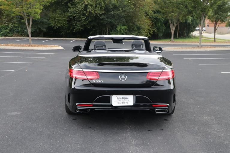 Used 2017 Mercedes-Benz S550 CONVERTIBLE W/NAV S550 CONVERTIBLE for sale $81,950 at Auto Collection in Murfreesboro TN 37130 6
