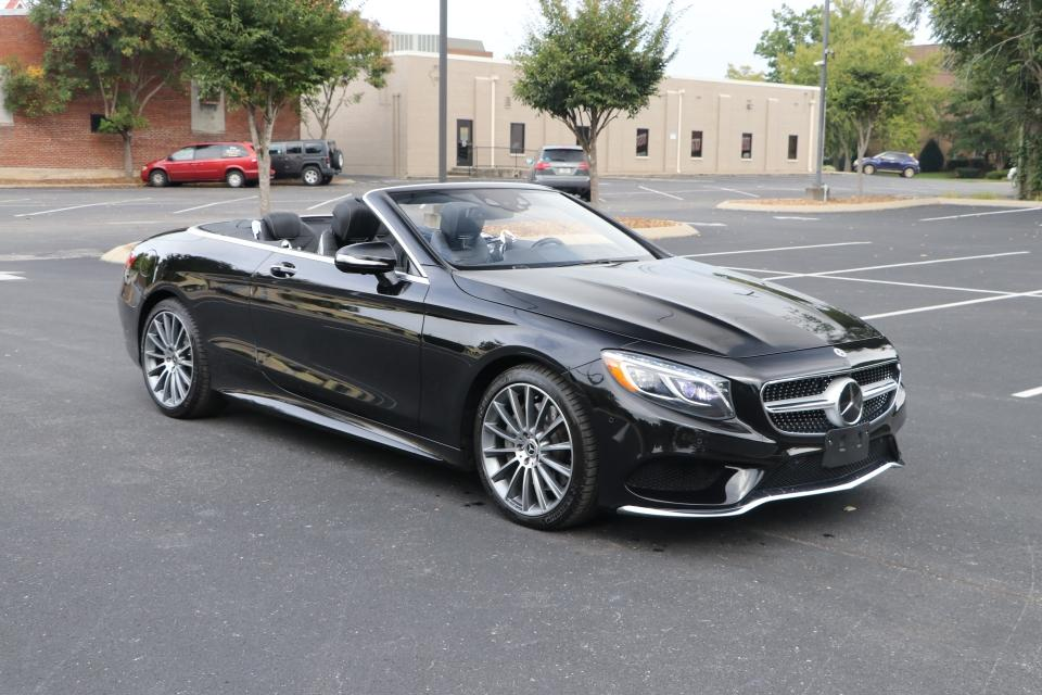 Used 2017 Mercedes-Benz S550 CONVERTIBLE W/NAV for sale Sold at Auto Collection in Murfreesboro TN 37130 1
