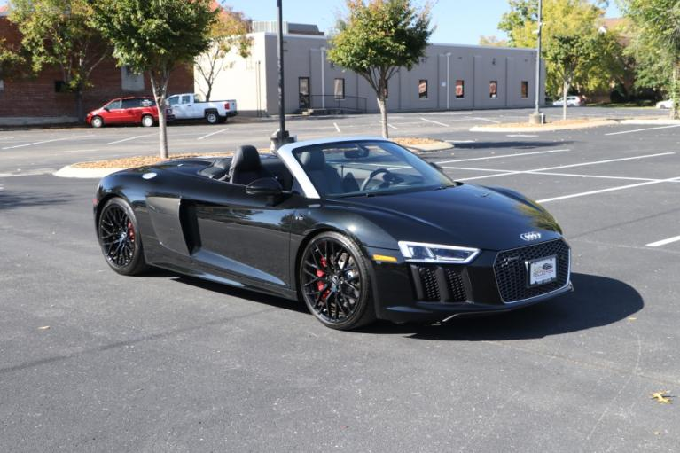 Used Used 2018 Audi  R8 V10 Spyder Quattro S tronic W/NAV V10 PLUS QUATTRO 7A for sale $154,900 at Auto Collection in Murfreesboro TN