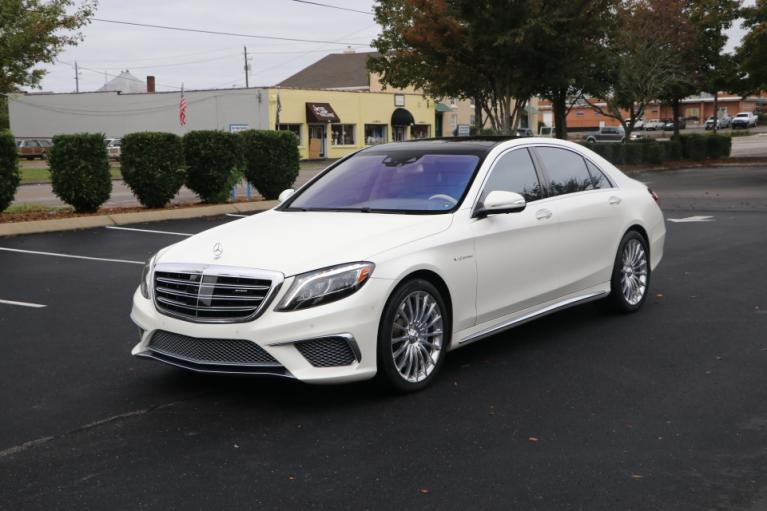 Used 2016 Mercedes-Benz S65 AMG W/NAV S65 AMG for sale Sold at Auto Collection in Murfreesboro TN 37130 2