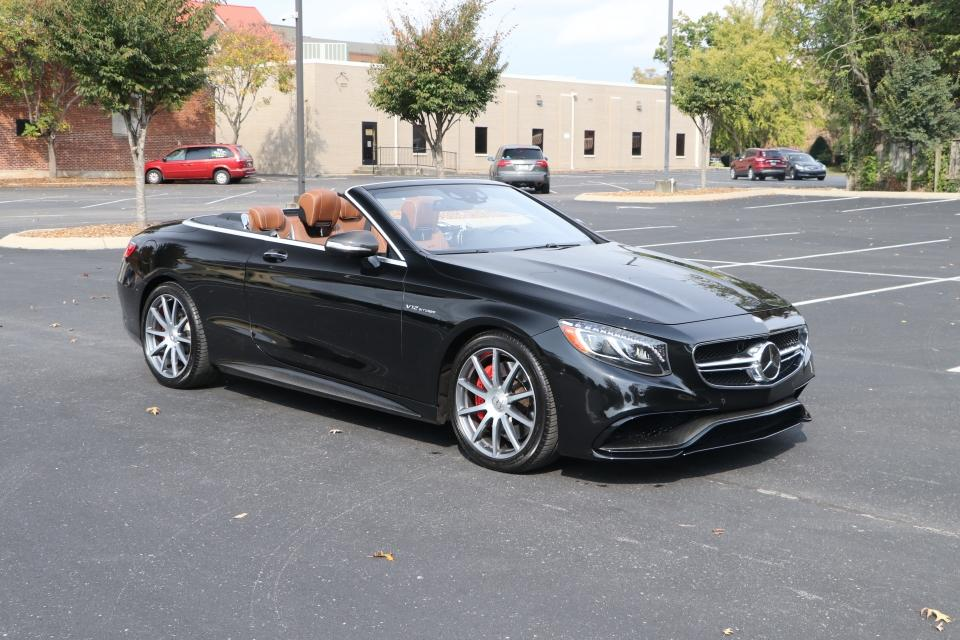 Used 2017 Mercedes-Benz S65 AMG CONVERTIBLE W/NAV AMG S65 CONVERTIBLE for sale $129,950 at Auto Collection in Murfreesboro TN 37130 1
