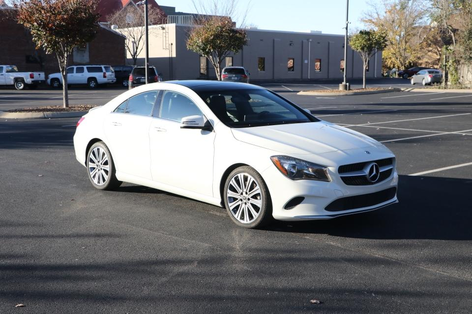 Used 2018 Mercedes-Benz CLA 250 COUPE W/NAV CLA250 for sale Sold at Auto Collection in Murfreesboro TN 37130 1