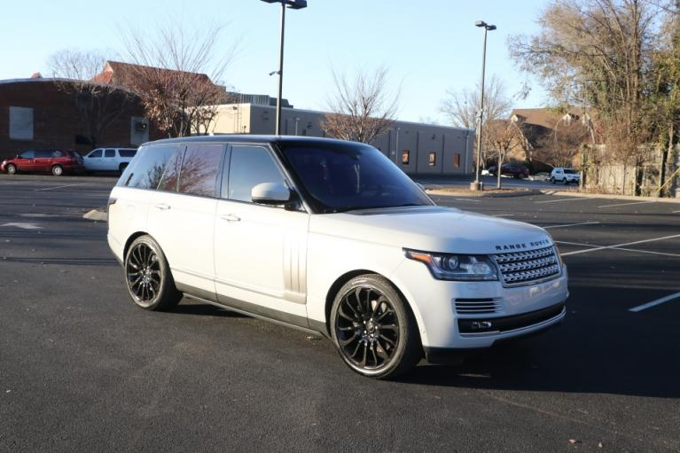Used Used 2016 Land_Rover RANGE ROVER 5.0 SUPERCHARGED AUTOBIOGRAPHY W/NAV AUTOBIOGRAPHY for sale $70,950 at Auto Collection in Murfreesboro TN