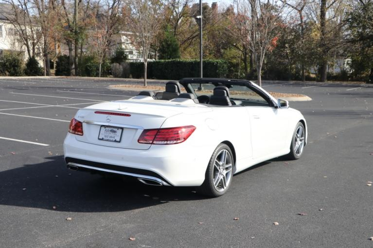 Used 2017 Mercedes-Benz E400 CABRIOLET SPORT RWD W/NAV E400 CABRIOLET for sale Sold at Auto Collection in Murfreesboro TN 37130 3