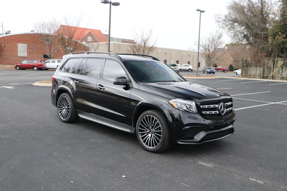 Used 2018 Mercedes-Benz GLS 63 AMG 4MATIC W/NAV GLS63 AMG for sale Sold at Auto Collection in Murfreesboro TN 37130 1