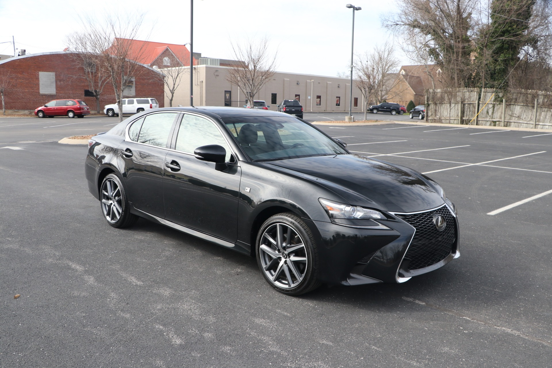 Used 2018 Lexus GS 350 F-SPORT AWD W/NAV 350 AWD for sale $37,950 at Auto Collection in Murfreesboro TN 37130 1