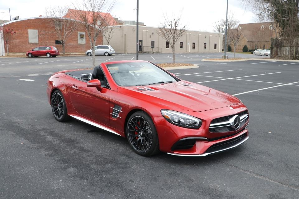 Used 2019 Mercedes-Benz SL63 AMG Roadster W/NAV for sale Sold at Auto Collection in Murfreesboro TN 37130 1
