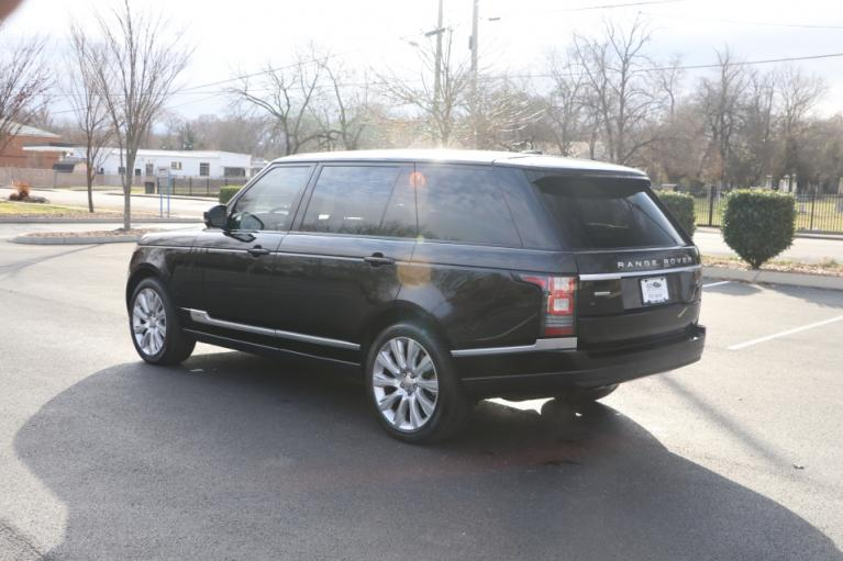 Used 2014 LAND_ROVER RANGE ROVER SUPERCHARGED LWB AWD W/NAV SUPERCHARGED AWD for sale Sold at Auto Collection in Murfreesboro TN 37130 4
