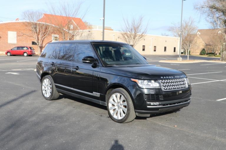 Used 2014 LAND_ROVER RANGE ROVER SUPERCHARGED LWB AWD W/NAV SUPERCHARGED AWD for sale Sold at Auto Collection in Murfreesboro TN 37130 1