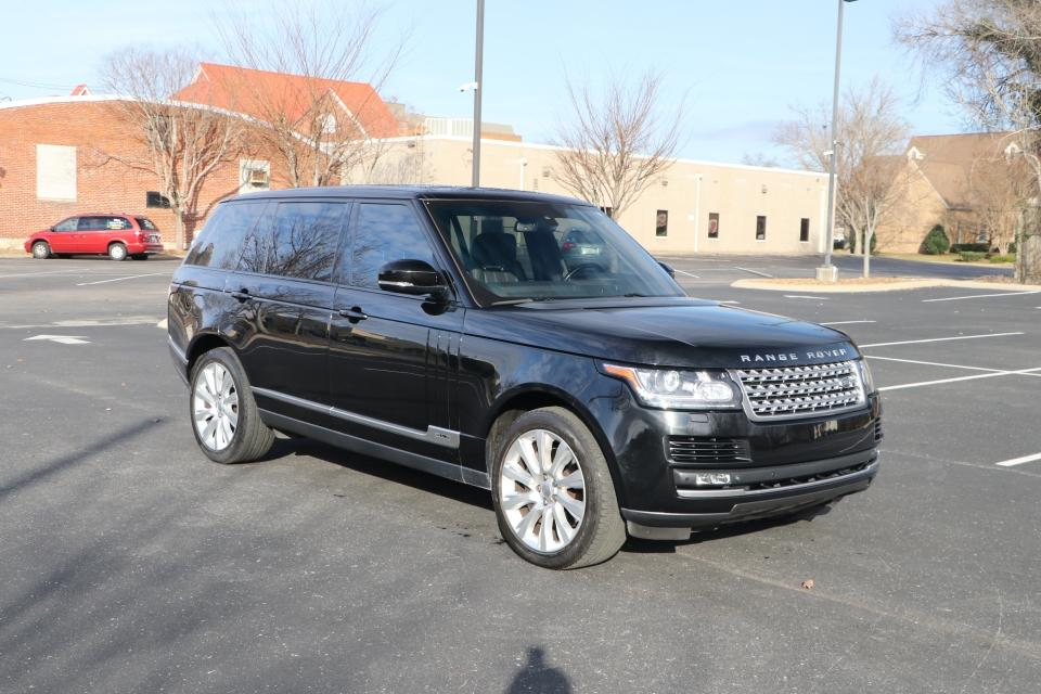 U 2014 LAND_ROVER RANGE ROVER SUPERCHARGED LWB AWD W/NAV SUPERCHARGED AWD for sale $43,950 at Auto Collection in Murfreesboro TN 37130 1