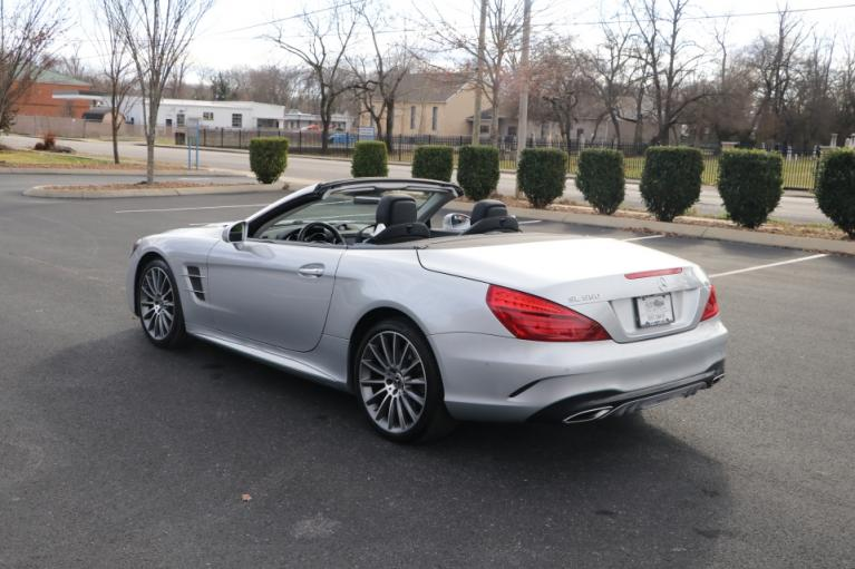 Used 2018 Mercedes-Benz SL550 ROADSTER W/NAV for sale Sold at Auto Collection in Murfreesboro TN 37130 4
