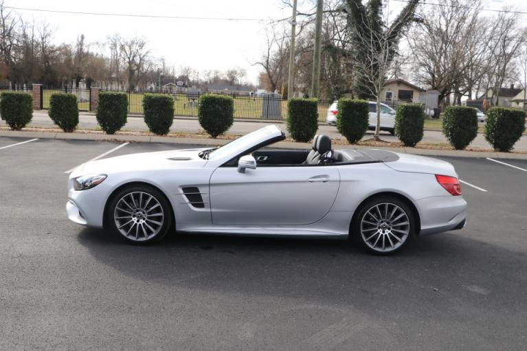Used 2018 Mercedes-Benz SL550 ROADSTER W/NAV for sale Sold at Auto Collection in Murfreesboro TN 37130 7