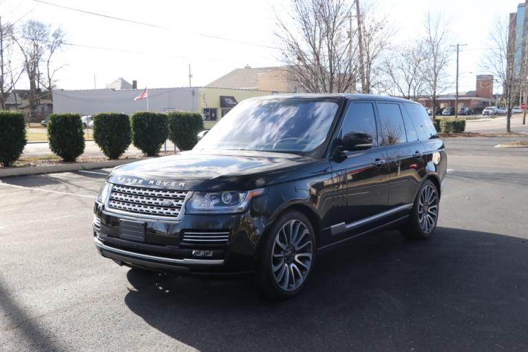 Used 2017 Land_Rover RANGE ROVER SUPERCHARGED AUTOBIOGRAPHY AWD W/NAV AUTOBIOGRAPHY for sale $86,950 at Auto Collection in Murfreesboro TN 37130 2
