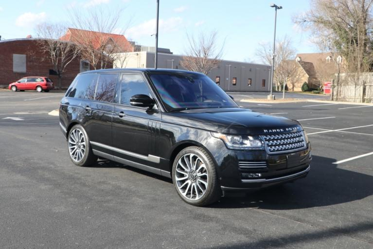 Used Used 2017 Land_Rover RANGE ROVER SUPERCHARGED AUTOBIOGRAPHY AWD W/NAV AUTOBIOGRAPHY for sale $84,950 at Auto Collection in Murfreesboro TN